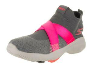 Details about New Women's Skechers GoWalk Revolution Ultra Bolt Running Shoes GrayPink Sz 9.5