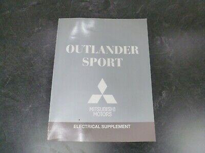 2014 Mitsubishi Outlander Sport Electrical Wiring Diagrams Manual Es Se Cvt 4wd Ebay