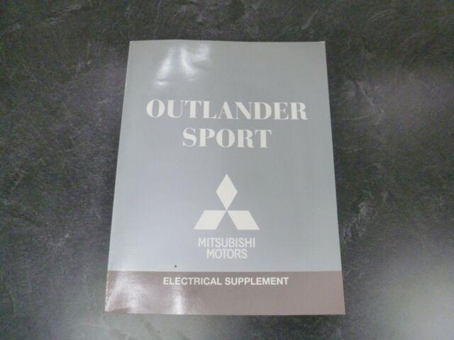 2014 Mitsubishi Outlander Sport Electrical Wiring Diagrams