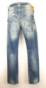 H25)  Luxus Designer FREEMANN T.POTTER Herren Jeans Gr. W30 L34 Neu
