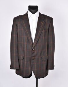 DAKS-vintage-hommes-veste-laine-blazer-taille-eur-52-UK42-veritable