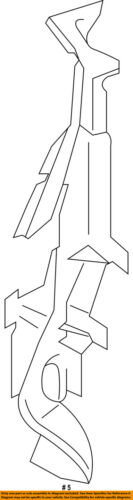 AUDI OEM 15-16 A3 Radiator Support-Air Baffle Duct Deflector Left 8V0121283B