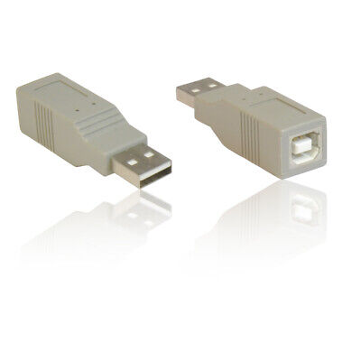 2pcs USB A-Male to USB A-Male M//M Gender Changer USB2.0 Adapter