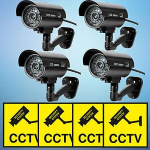 Fake-Dummy-Security-CCTV-Camera-Bullet-Waterproof-IR-Outdoor-Indoor-Surveillance