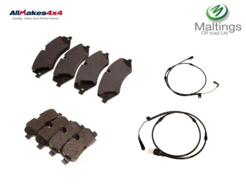 Discovery 4 brake pads front and rear with wear sensors lr051626 lr015519 2010