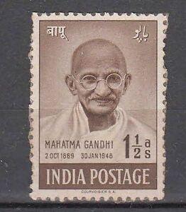 India-Mahatma-Gandhi-1948-Mint-One-amp-Half-Anna-Stamp