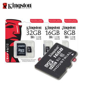 Kingston-8GB-16GB-32GB-Industrial-Grade-microSD-UHS-I-R-90-MB-s-adapter