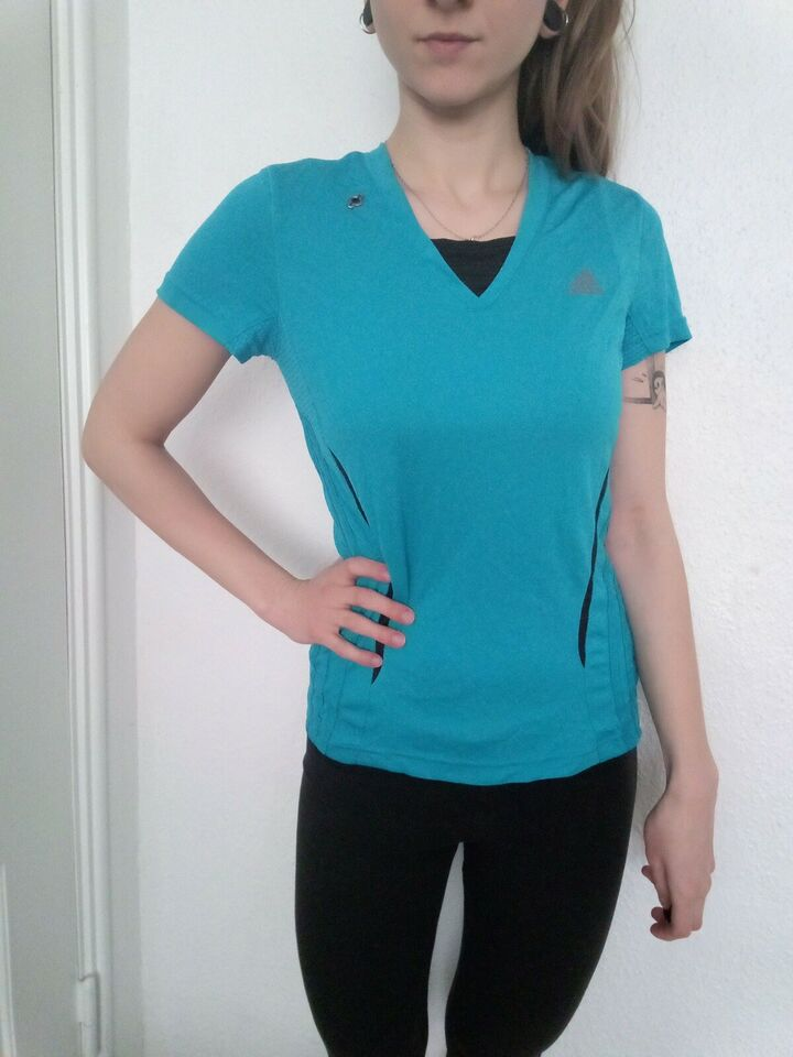 T-shirt, løbe T-shirt, Adidas