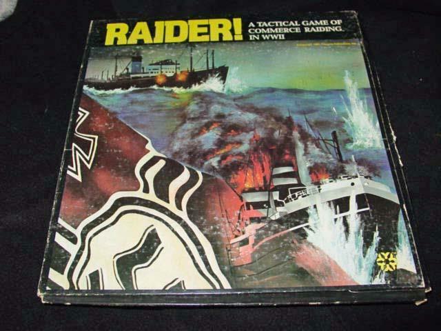 Yaquinto 1981-juego del comercio electrónico asaltar Raider en el Océano Índico (UNP)