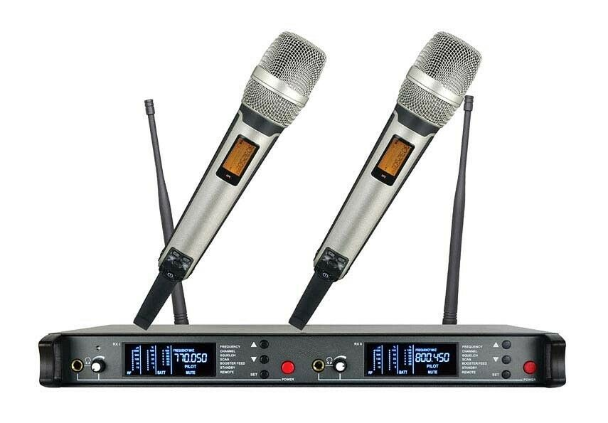 UHF Wireless Microphone mic System for Shure Wireless Microphone 2 Handheld mics