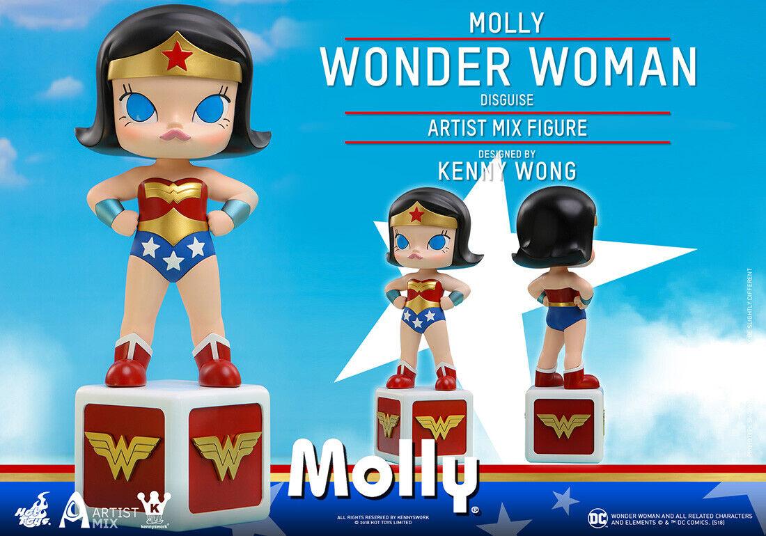 heta leksaker AMC029 Molly (Wonder kvinna Cosspela Version)