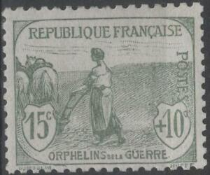 FRANCE-STAMP-TIMBRE-N-150-034-ORPHELINS-FEMME-LABOUR-15c-10c-034-NEUF-xx-TTB-K164