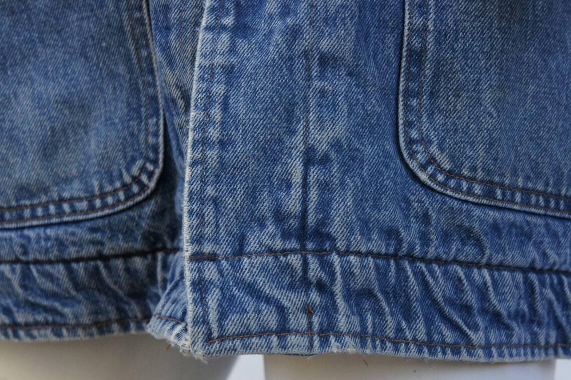 Vintage 80s Men's Ralph Lauren Polo Jean Jacket - image 3