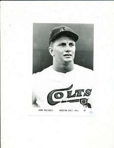 1963 John Paciorek Houston Colts 7x5 Team Issue Photo