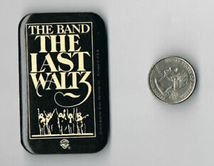 THE-BAND-The-Last-Waltz-1978-LP-Album-PROMO-PIN-Button-Badge