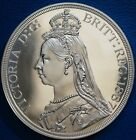 Scotland 1887 Pewter Retro Pattern Proof Crown