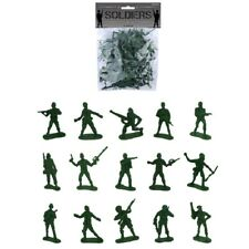 50 x Plastic Combat Soldiers Platoon Army Pack Boys Kids Fun Toy
