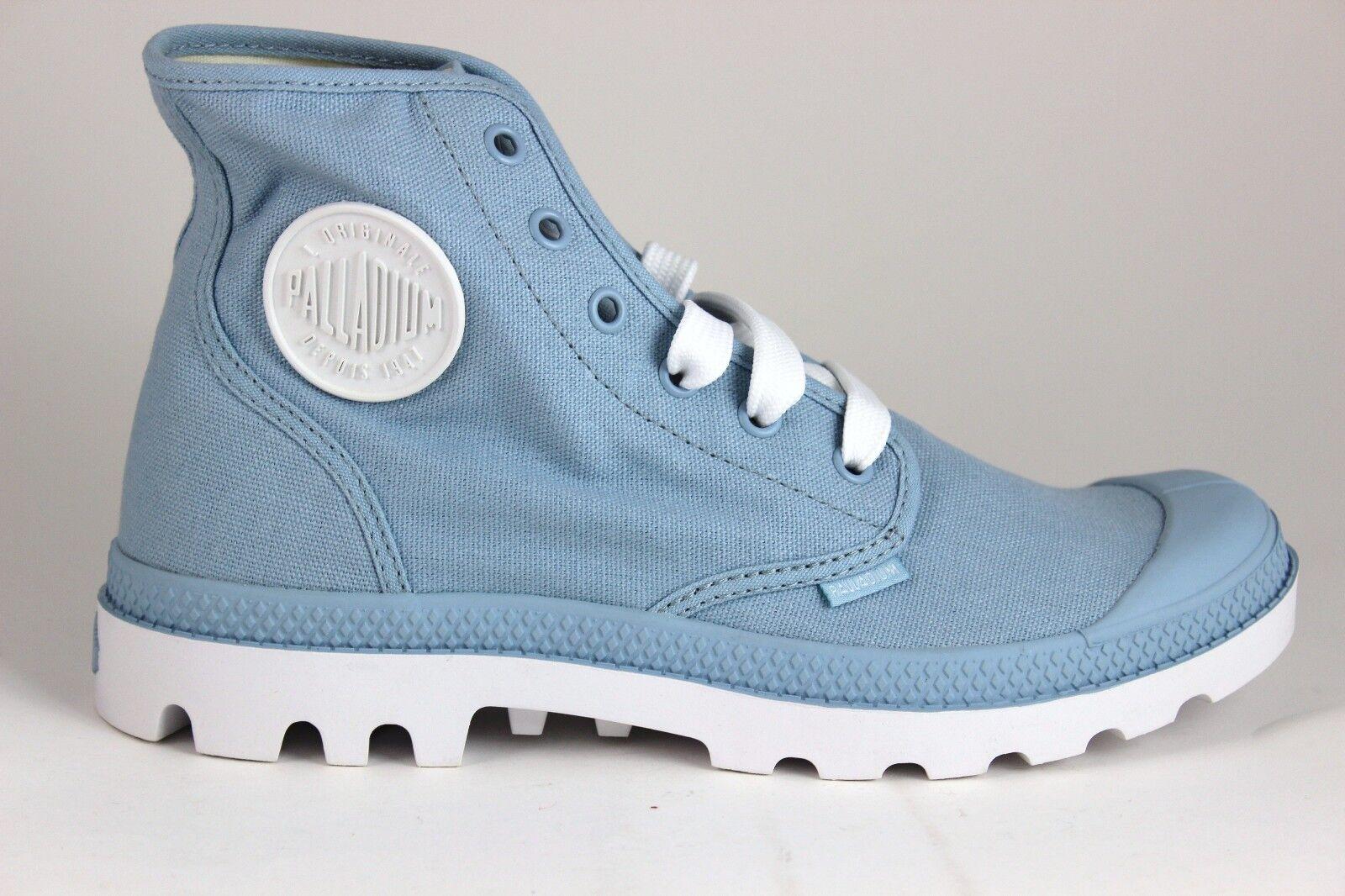 Unisex Palladium bianca Hi  72886446 Dream blu bianca Brand New in Box  autorizzazione ufficiale