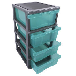 plastic file cabinets movable 4 slide drawer plastic filing storage cabinet 24782