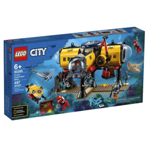 LEGO 60265 City Exploration Base Brand New Sealed