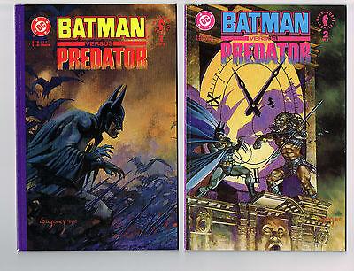 BATMAN VERSUS PREDATOR #1-3 COMPLETE NM PRESTIGE DC COMICS 1991 UNREAD