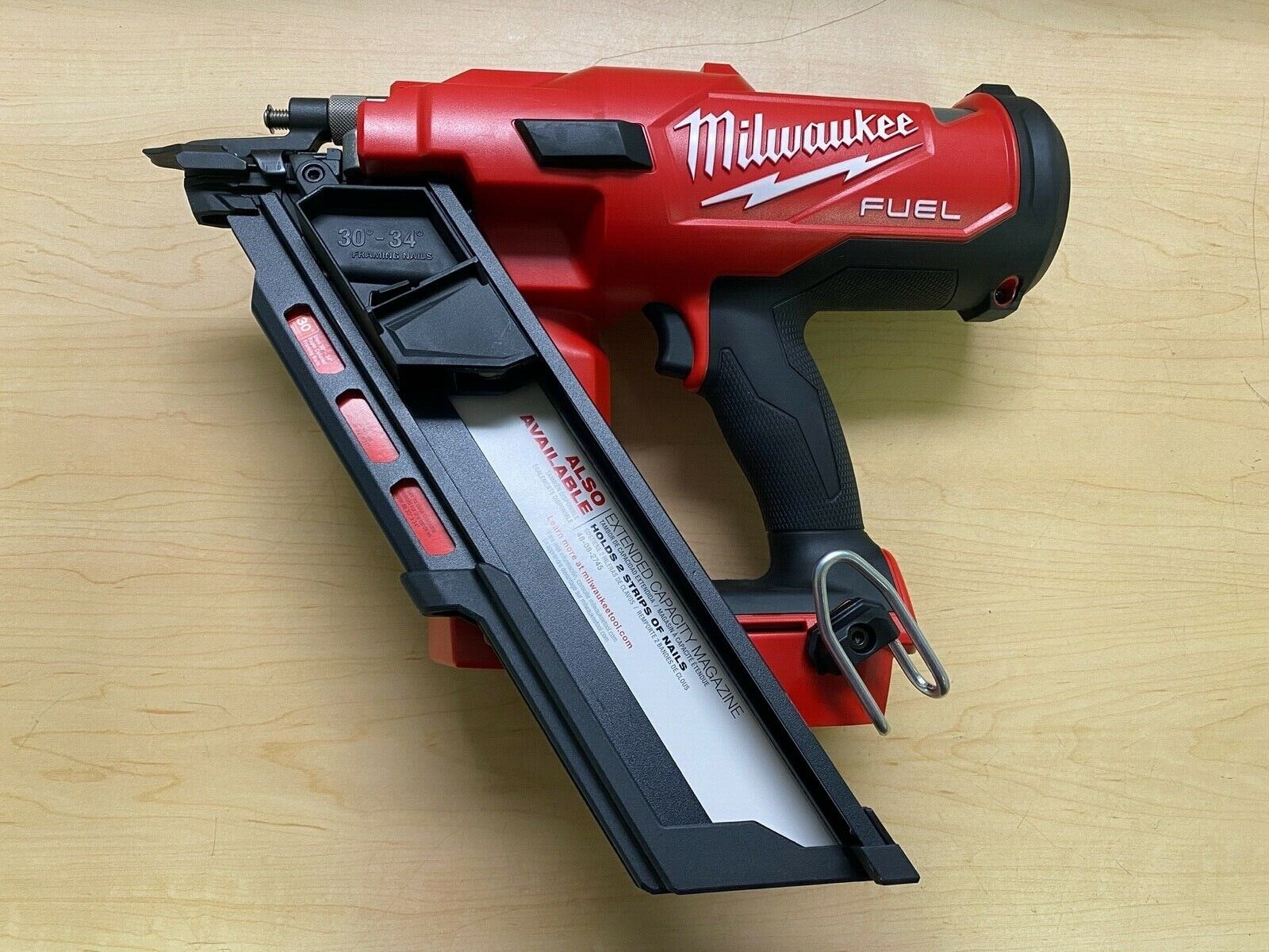 Milwaukee 2745-20 M18 FUEL 30-Degree Framing Nailer (Tool Only). Buy it now for 329.99