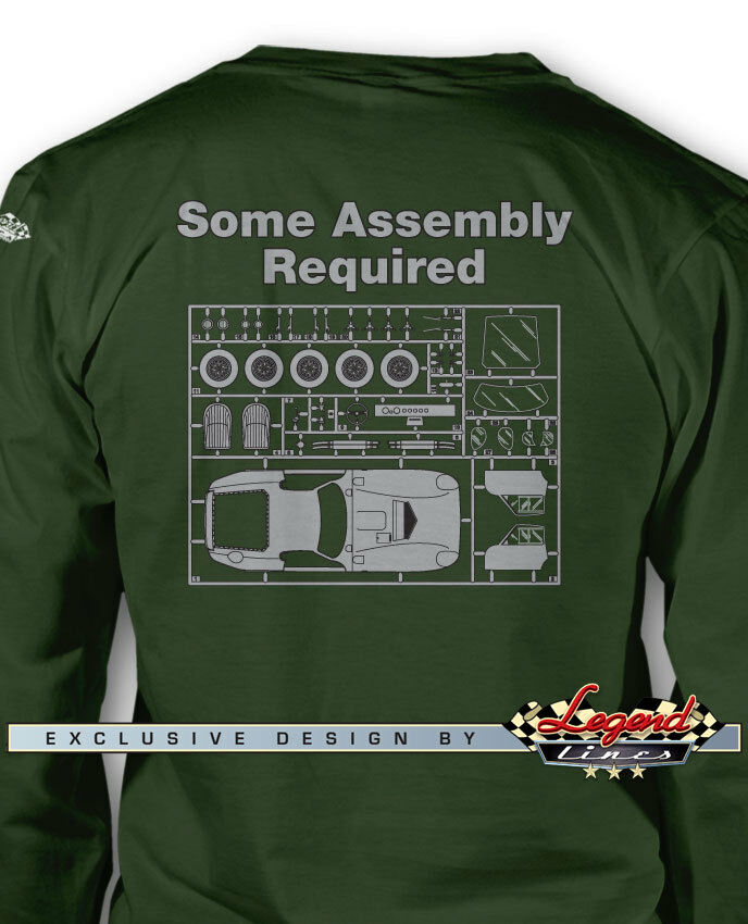 1964 Shelby Daytona Assembly Required Long Sleeves T-Shirt Multi. colors & Sizes