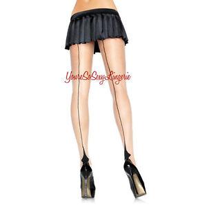 Free Back seam pantyhose sizes