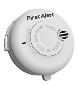 FIRST-ALERT-SMOKE-ALARM-PHOTOELECTRIC-BATTERY-DETECTOR-CEILING-HALLWAY-BEDROOM
