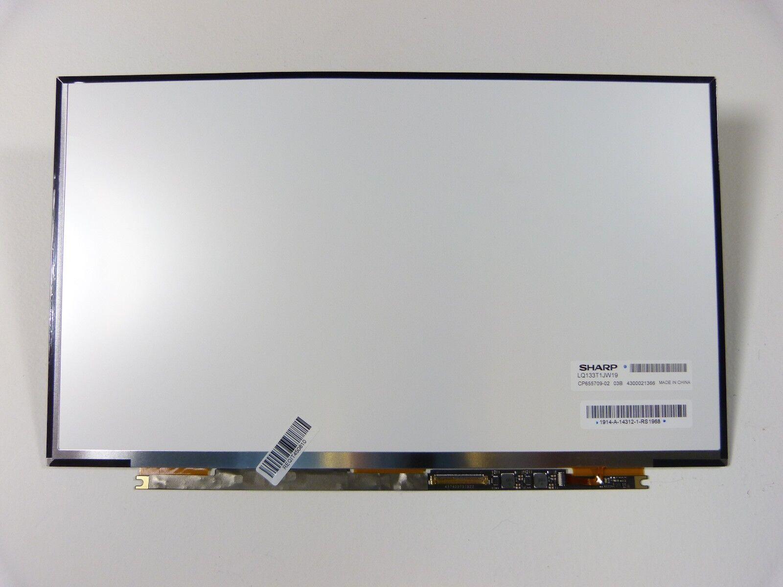 "New 13.3"" LED QHD LQ133T1JW19 / CP655709-02 Replacement Laptop Screen AG"
