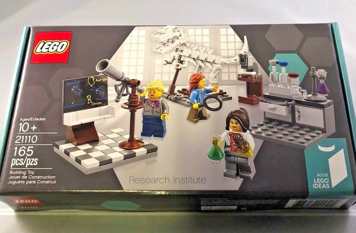 Lego Ideas Ideas Ideas 21110 Research Institute Brand New Sealed 4ca7a4