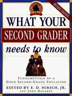 Core Knowledge: What Your Second Grader Needs to Know : Fundamentals of a Good Second Grade Education by E. D., Jr. Hirsch and John Holdren (1998, Hardcover, Revised)