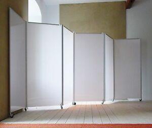Faltwand rollwand raumtrennwand raumteiler paravent posterw nde mietw nde ebay - Faltwand raumteiler ...