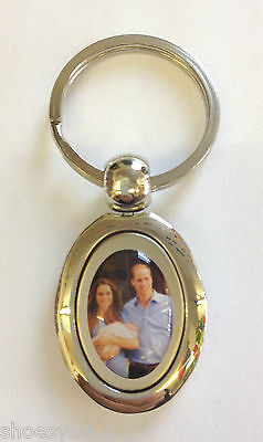 Baby Prince George Prince William /& Kate Middleton Silver Plated Spoon /& Keyring