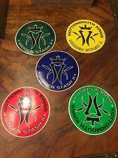 5 Kottonmouth Kings  RARE HIDDEN STASH II 2001 promo stickers (Multiple Colors)