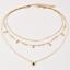Mode-Multicouche-Or-Chaine-Tour-de-Cou-Star-Crystal-Collier-Pendentif-Femmes-Bijoux miniature 6