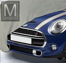 Mini Cooper F56 ab 2014 Carport Outdoor Indoor Auto Cover Stoffgarage wetterfest