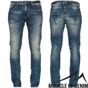 M-O-D-Herren-Jeans-Cornell-Slim-NOS-1003-Hose-Stretch-NEU-Slim-Fit-Leg-Denim-MOD