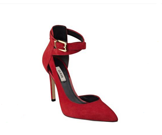 GUESS AMBELU POINTED-TOE PUMPS, rot - Be Stunning in in in rot and Save 60% f7f091