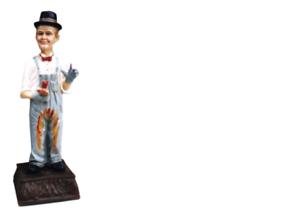 Design Flip i Flap pintor personaje estatua escultura figuras esculturas decorativas 5331 nuevo