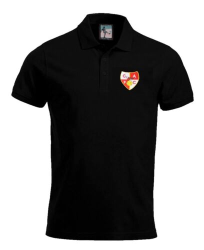 Charlton Athletic anni 1940 Calcio Polo Taglie S-Xxxl Logo Ricamato