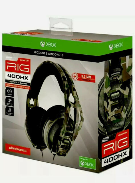Plantronics Rig 400hx Xbox One and Ps4 Headset Forest Camo