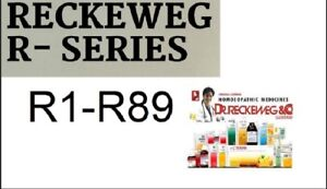 Details about Dr Reckeweg Germany Homeopathic Remedies R1 TO R89 Fast  Shipping