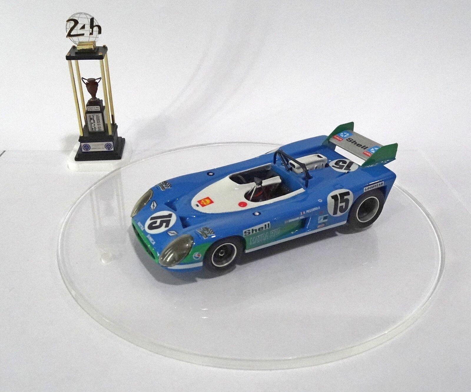 MATRA SIMCA MS 670  15 Le Mans 24 H 1972 Built Monté Kit 1 43 no spark