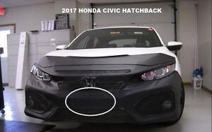 Lebra Front End Mask Cover Bra Fits 2017-2018 Honda Civic Hatchback EXC.Type R 81231004739 | eBay