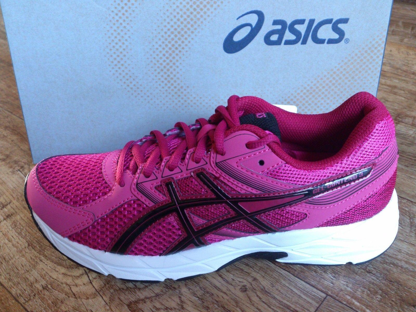 ASICS GEL CONTEND 3 dimensioni da Donna Scarpe Da Corsa Jogging Running Nuovo
