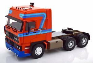 DAF 3600 Spacecab - 1986 - orange / blue - Road Kings 1:18