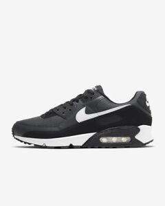 Nike Men's Air Max 90 Shoes NEW AUTHENTIC Iron Grey/Smoke Grey/White CN8490-002