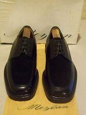 [[New Mezlan Ragusa 9 M black velvet/calf leather (3665)]]