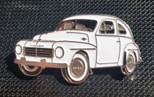Volvo Pin Buckelvolvo weiß lackiert PV444 PV544 Maße 38x20mm